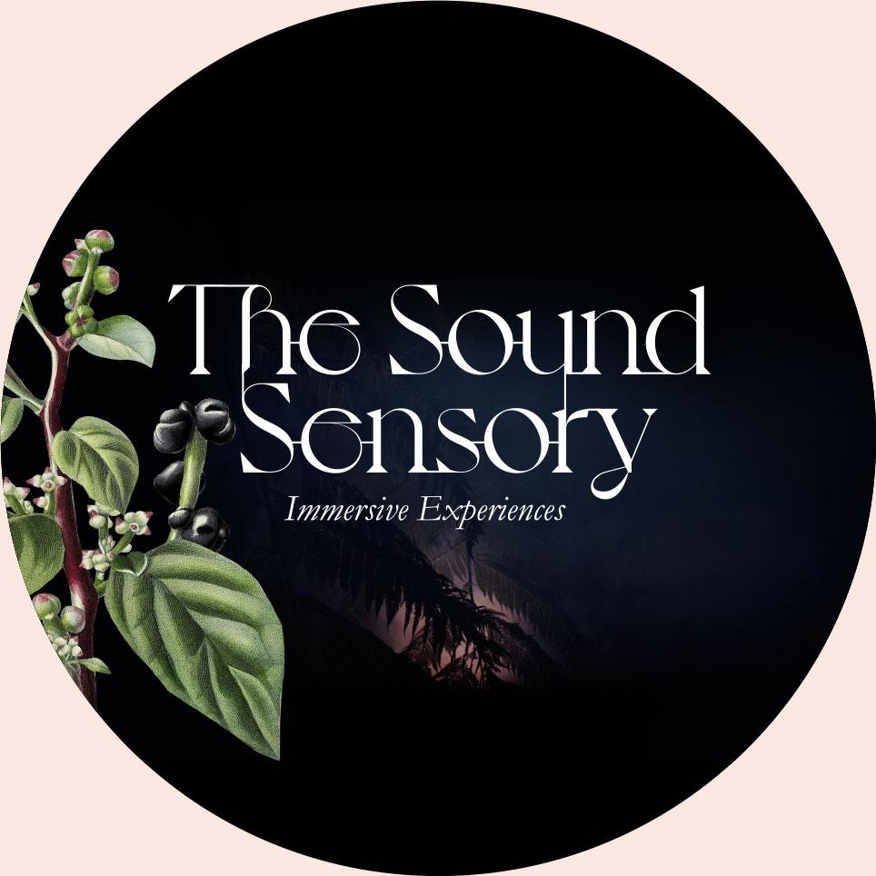 Round version of the Sound Sensory logo